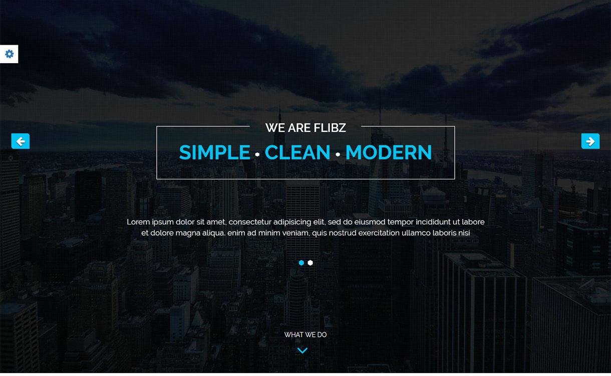 flibz-best-premium-parallax-wordpress-theme
