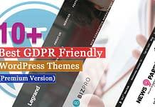Best Premium GDPR Friendly WordPress Themes
