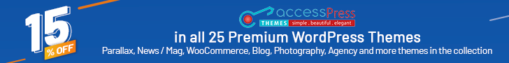 AccessPress Themes Discount Offer