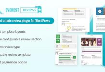Everest Review - WordPress User Admin Review Plugin