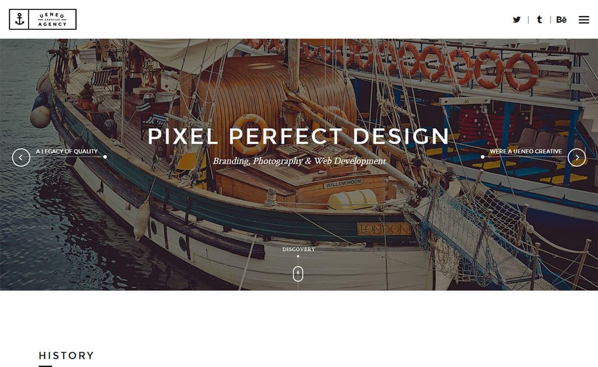 ueneo-best-premium-parallax-wordpress-theme