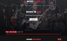 music producer - premium WordPress music theme