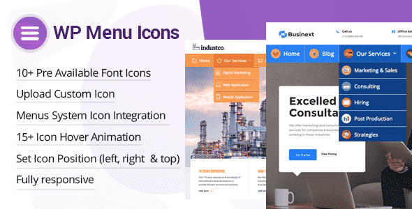 Best Custom Icons Plugin for WordPress Menu – WP Menu Icons