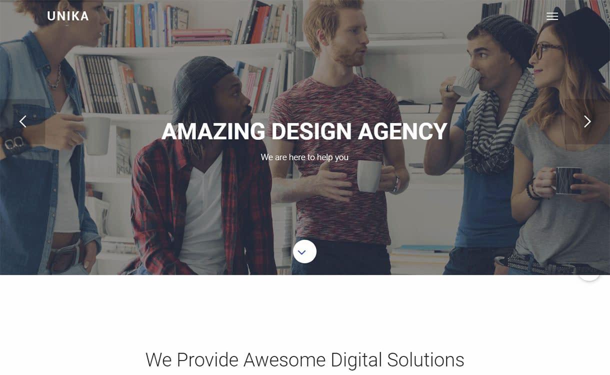 unika-best-premium-material-design-wordpress-theme