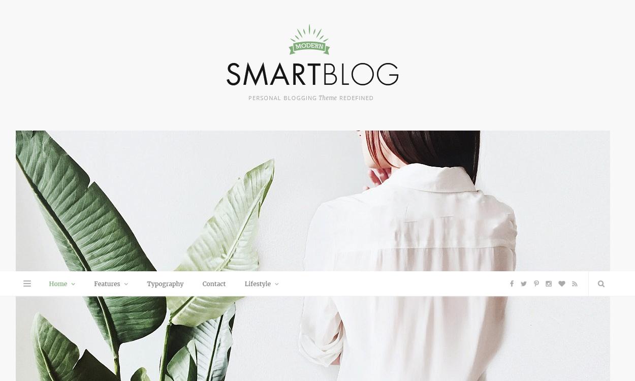 Smartblog - Best Premium WordPress Blog Themes