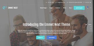 Emmet Next - Business WordPress Theme
