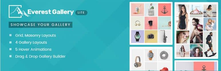 Everest Gallery Lite - Free WordPress Gallery Plugin