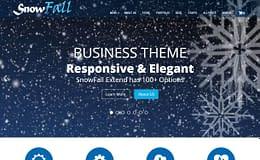snowfall-free-WordPress-theme