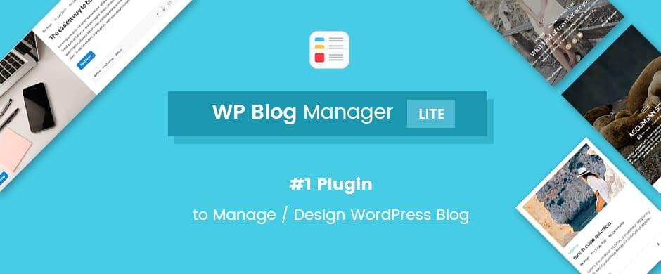 Download WP Blog Manager FREE