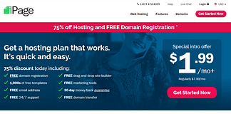 iPage - Reliable WordPress Hosting Providers