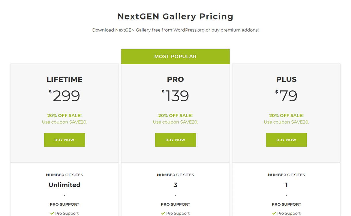 NextGEN Gallery - Best WordPress Gallery Plugin Review
