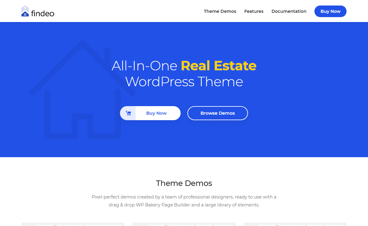 Findeo - Best Premium House Rental and Property WordPress Theme