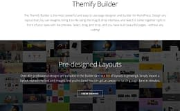 Themify Builder-WordPress Page Builder Plugin