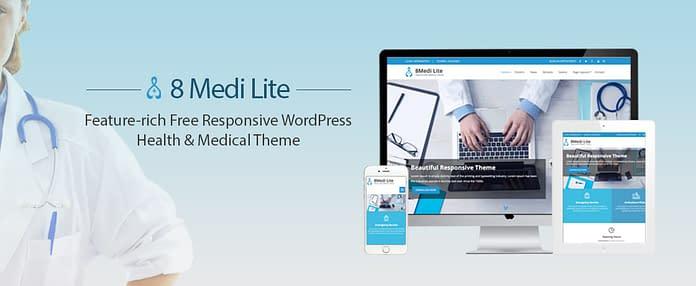 EightMedi Lite - Free WordPress Medical Theme