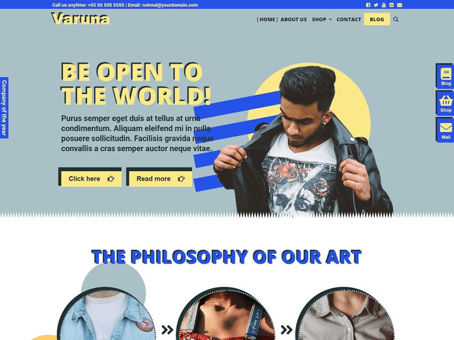 Varuna - Multipurpose WordPress Theme