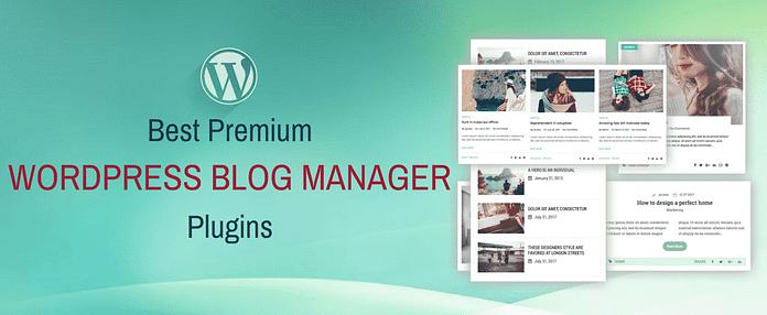 WordPress Blog Manager Plugins