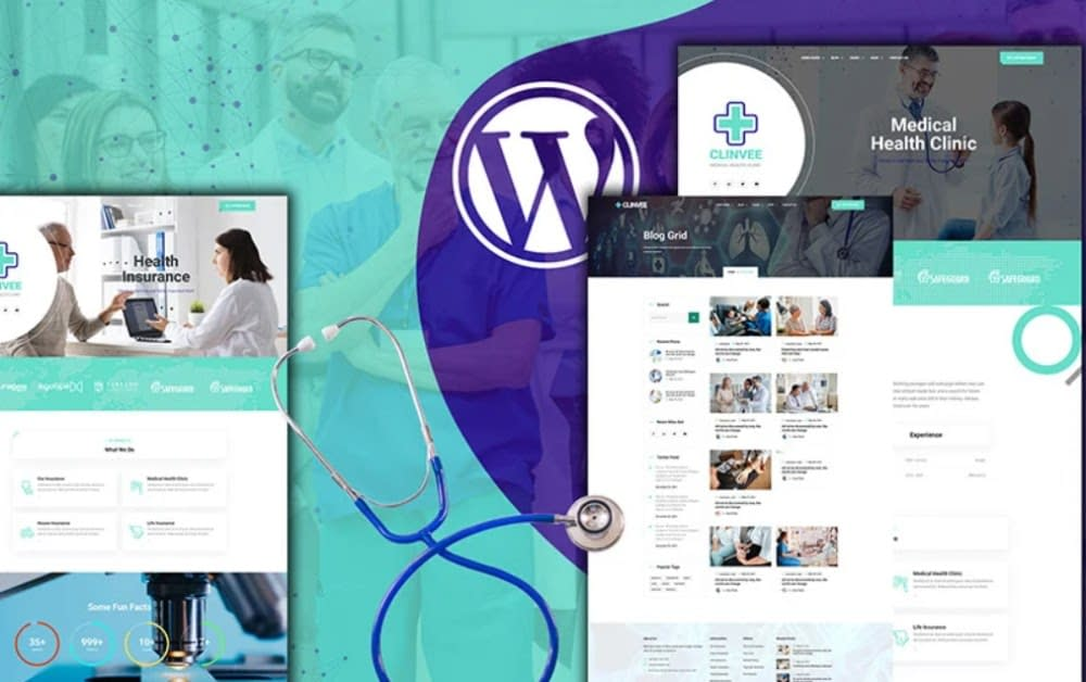 Clinvee - Doctor Medical Clinic WordPress Theme