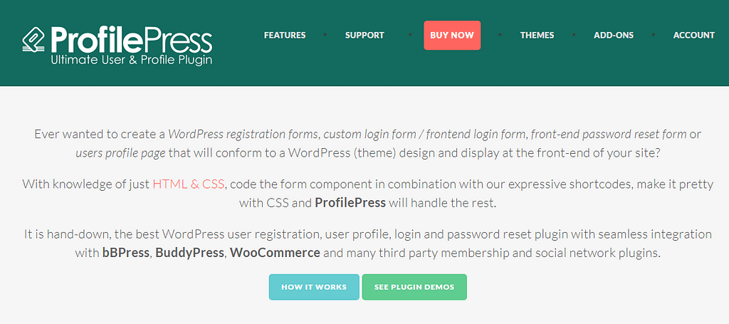 ProfilePress - Black Friday & Cyber Monday Deal