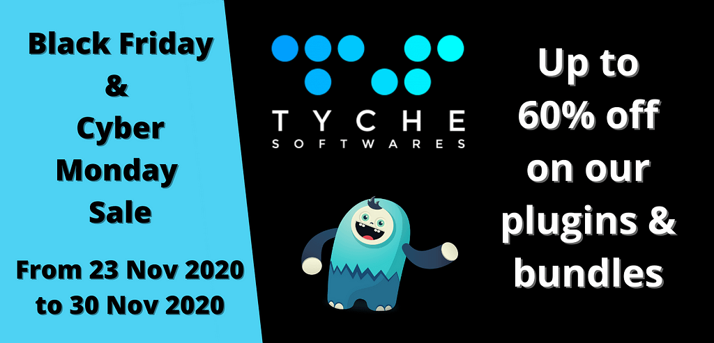 Tyche Softwares - Black Friday Cyber Monday Sale 2020