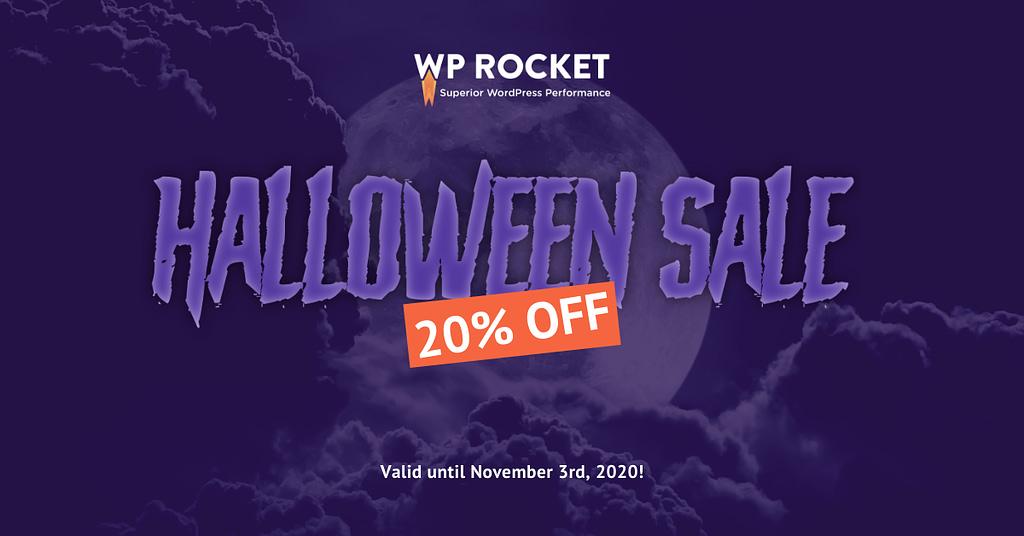 WP Rocket - Halloween Offer 2020