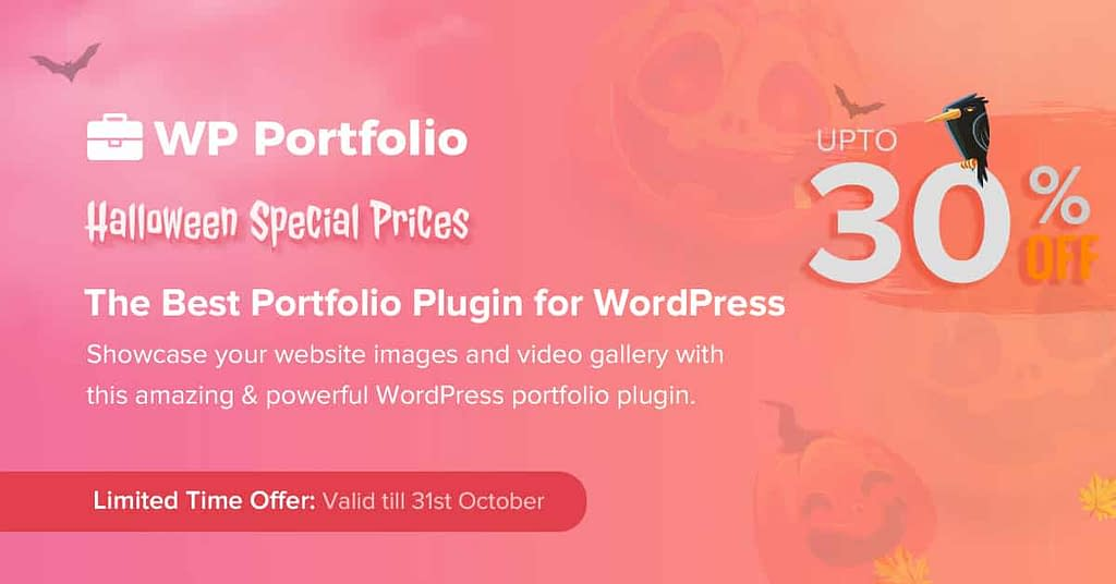 WP Portfolio - Halloween Deal 2020