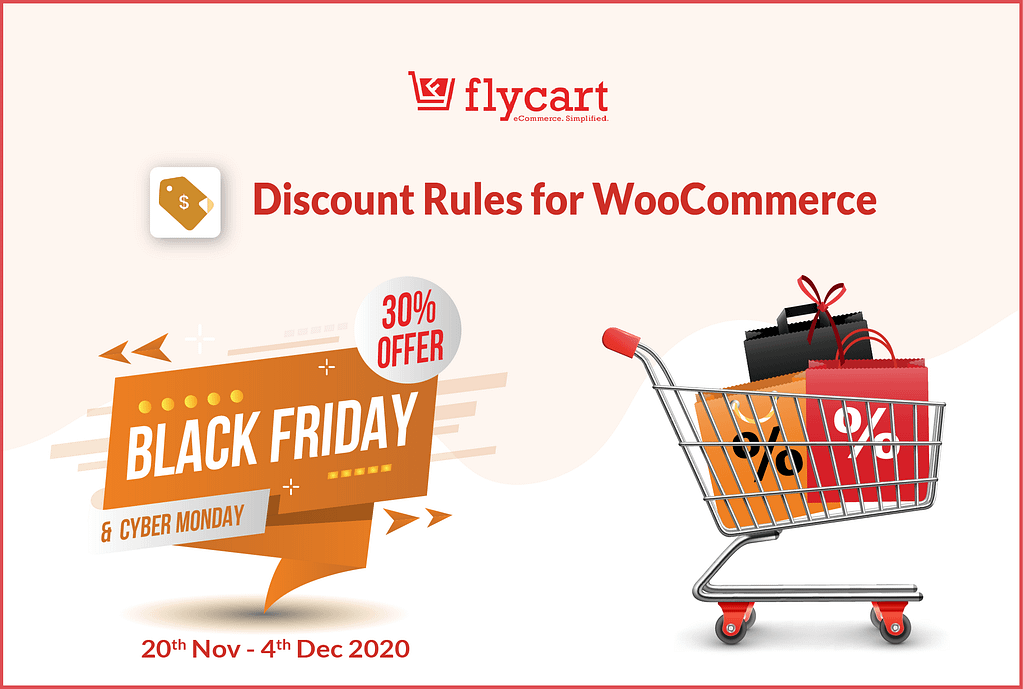 Discount Rules for WooCommerce - Black Friday & Cyber Monday Deal