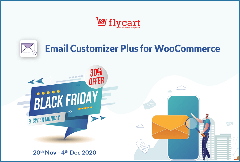Email Customizer Plus for WooCommerce - BFCM Deal 2020