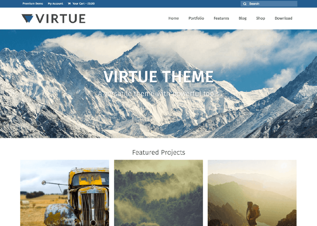 Virtue - WordPress Multipurpose Theme