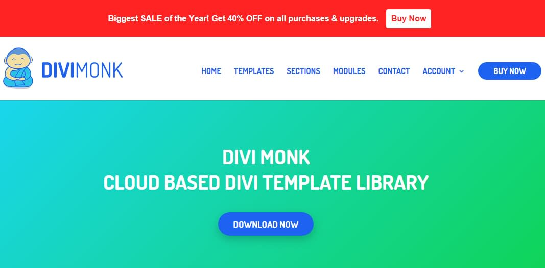 DiviMonk - Black Friday and Cyber Monday WordPress Deal 2018