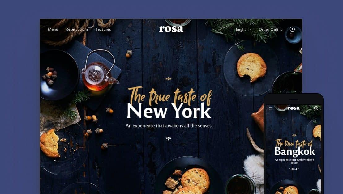 Rosa 2 - Premium WordPress Business Theme
