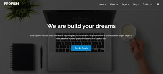Profisme - Best Free WordPress Home Rental and Property WordPress Theme