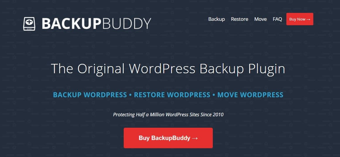 BackupBuddy - WordPress Backup Plugin