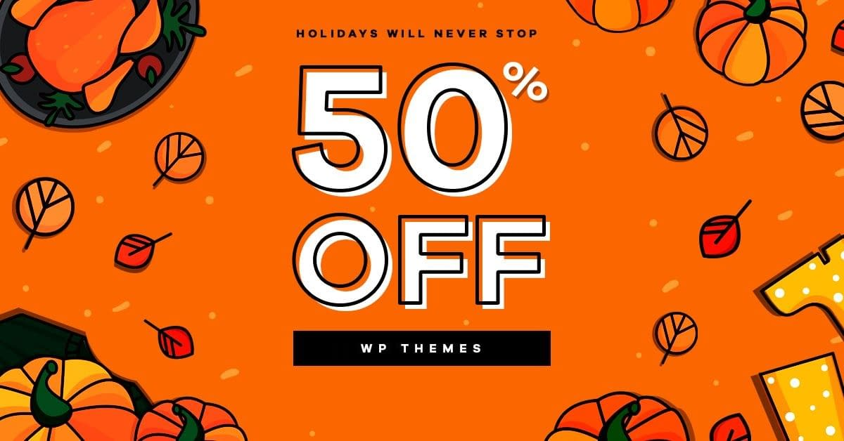ThemeRex - Black Friday and Cyber Monday WordPress Deal 2018