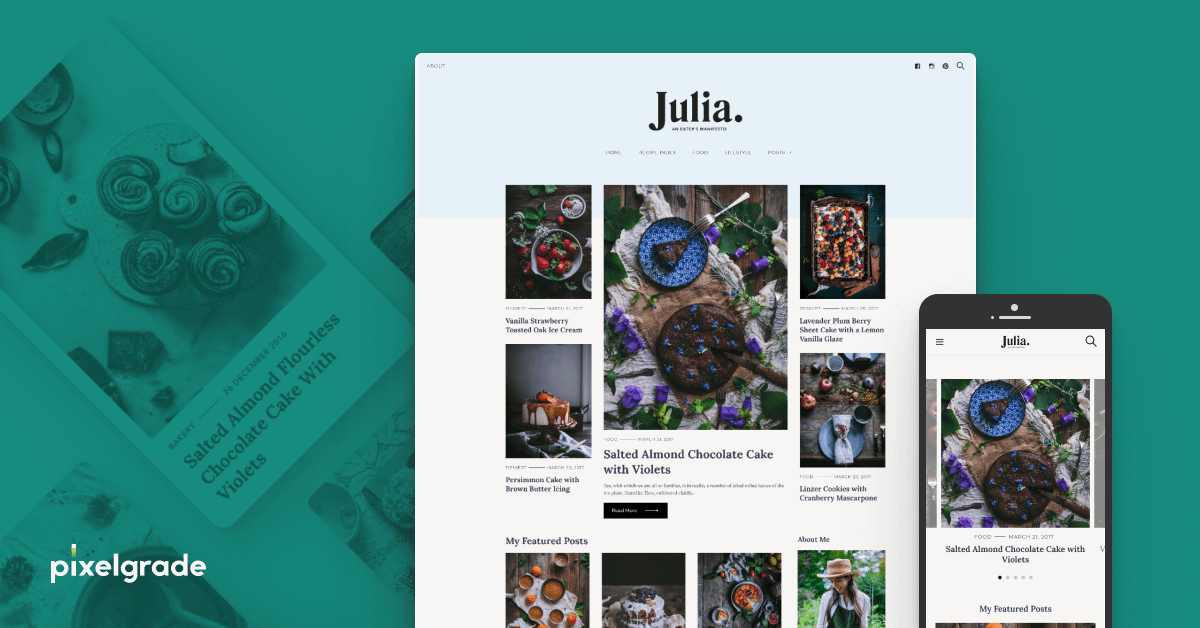 Julia - WordPress Blog Theme