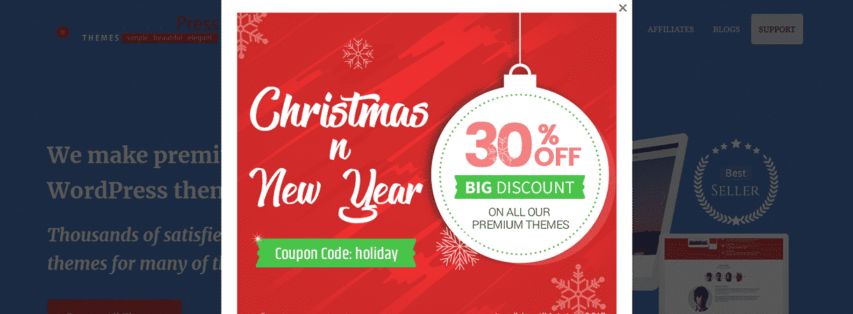 AccessPress Themes - Best WordPress Christmas and New Year Deals