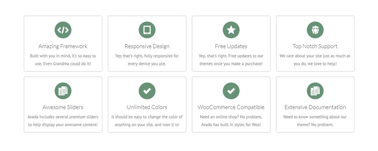Avada feature-Divi Vs Avada - Ultimate WordPress Theme Comparision