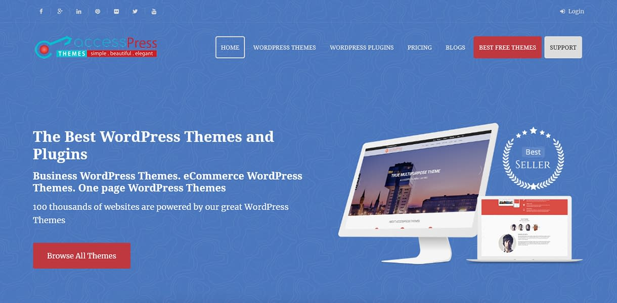 AccessPress Themes - Black Friday and Cyber Monday Deal 2018