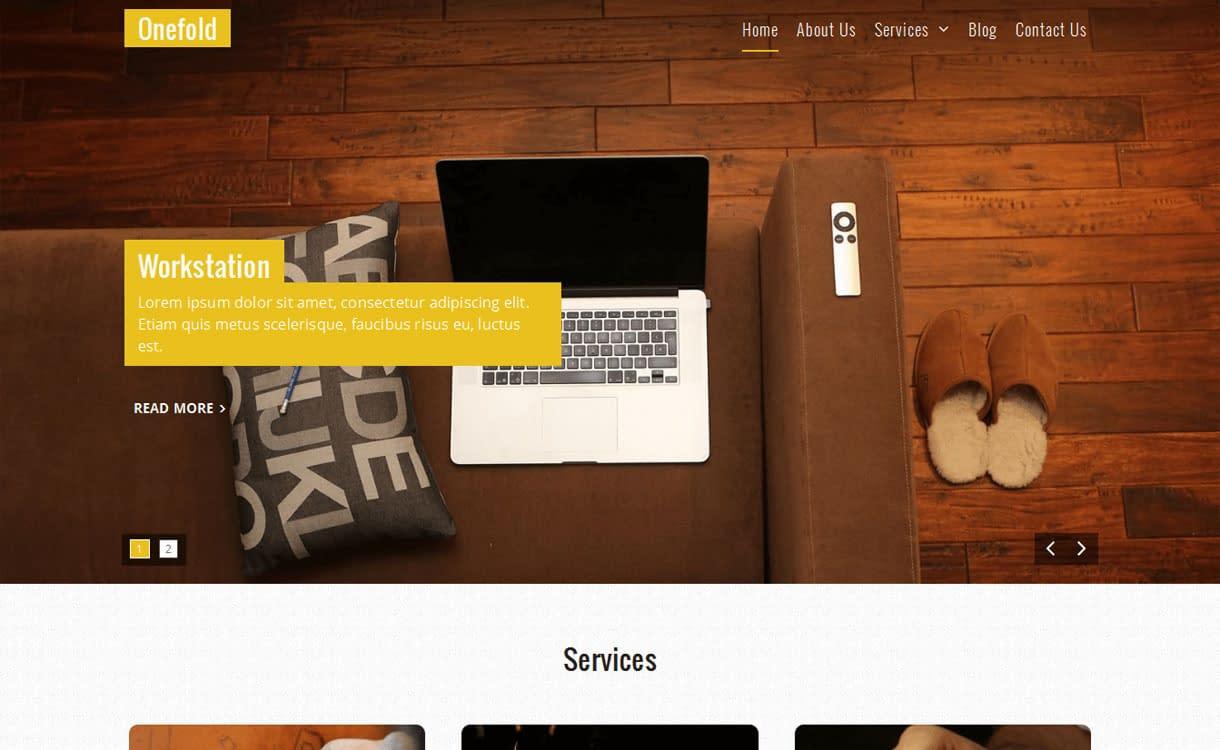 one-fold-best-free-WordPress-theme-October-2016