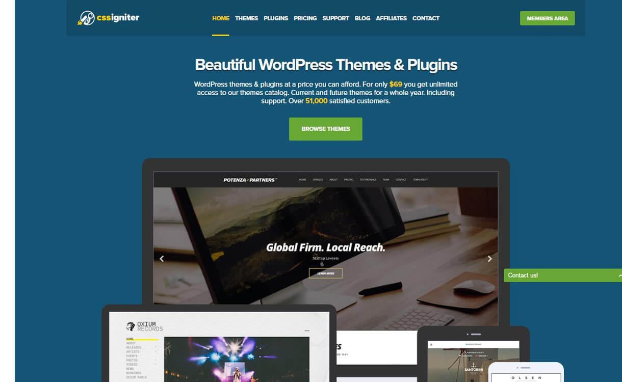 CSSIgniter- WordPress Halloween Deals and Discounts