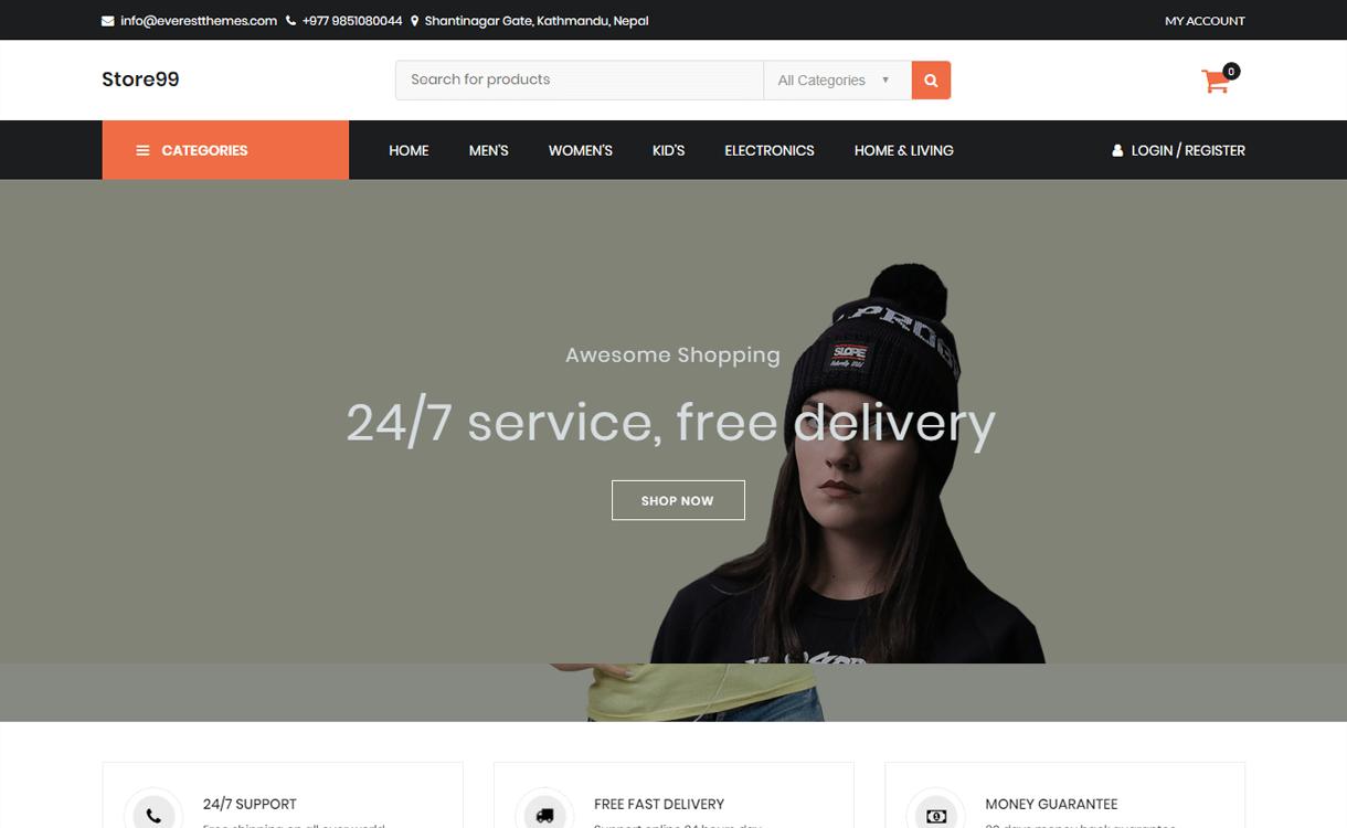 Store-Best Free WordPress eCommerce Themes