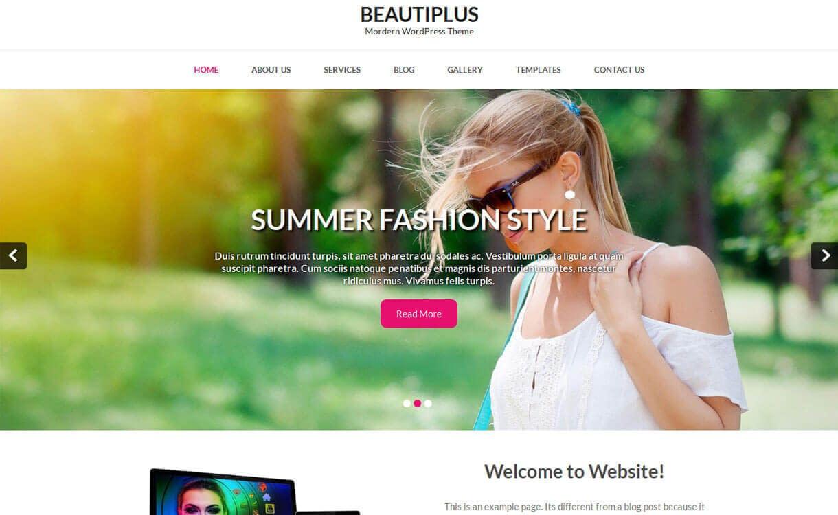 beautiplus-best-free-WordPress-Theme-December-2018