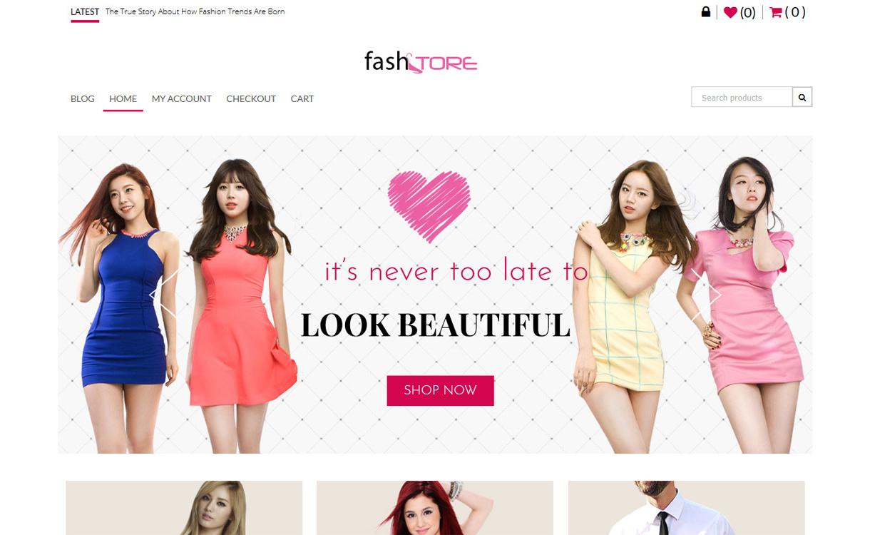FashStore Best Premium WordPress eCommerce/WooCommerce/Online Store Themes