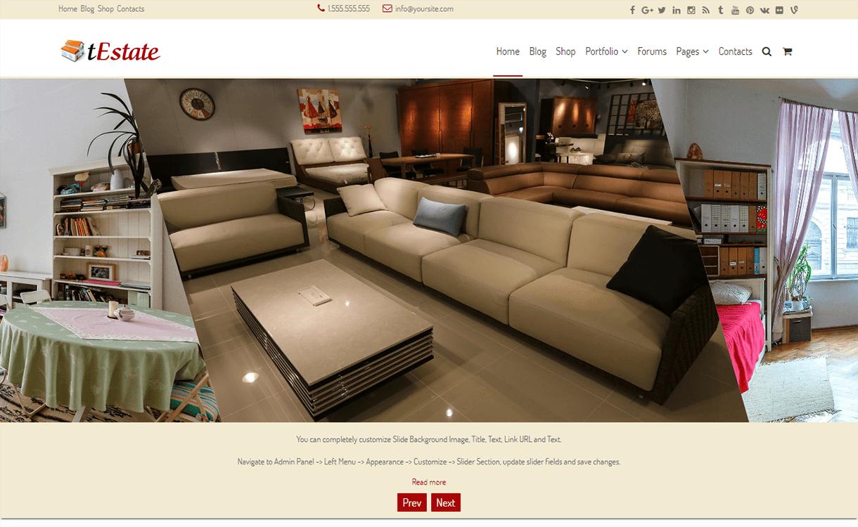 Festate-Best Free Premium Real Estate WordPress Themes