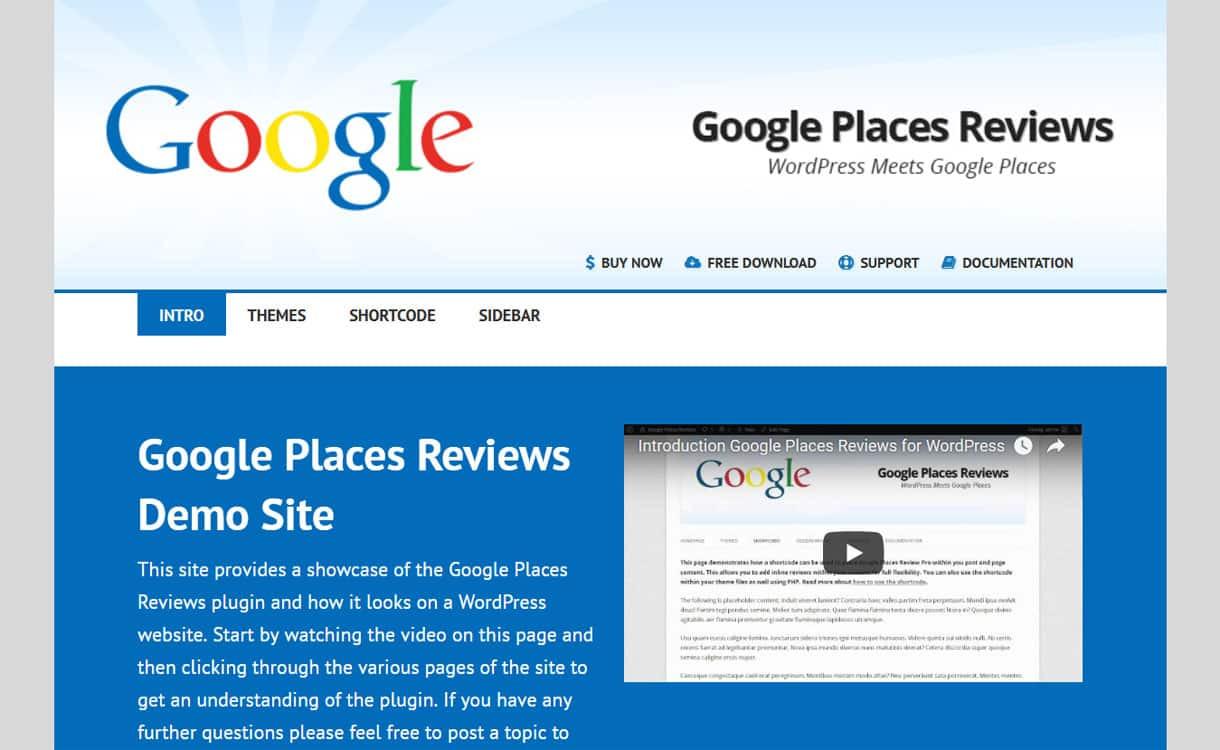 Google Reviews Plugin - Google Place Business Review Premium WordPress Plugins