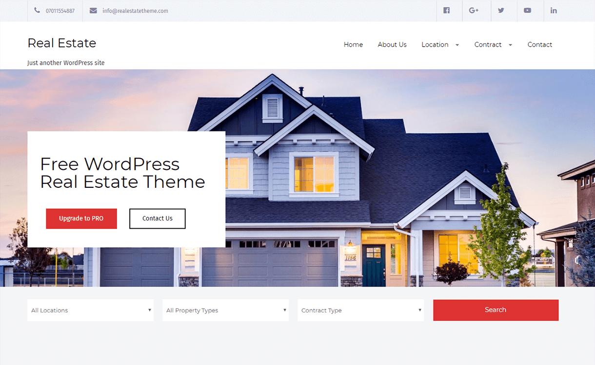 Real Estate Lite-Best Free & Premium Real Estate WordPress Themes
