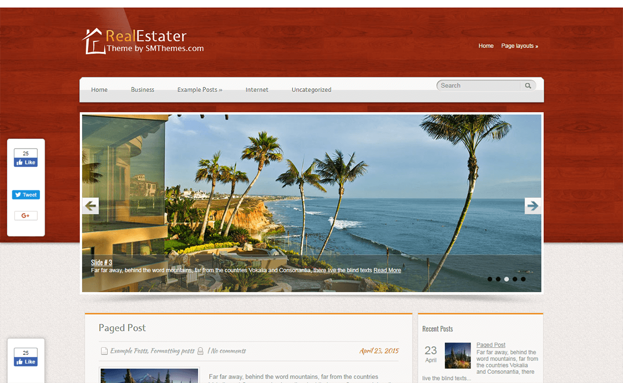 Realestater-Best Free & Premium Real Estate WordPress Themes