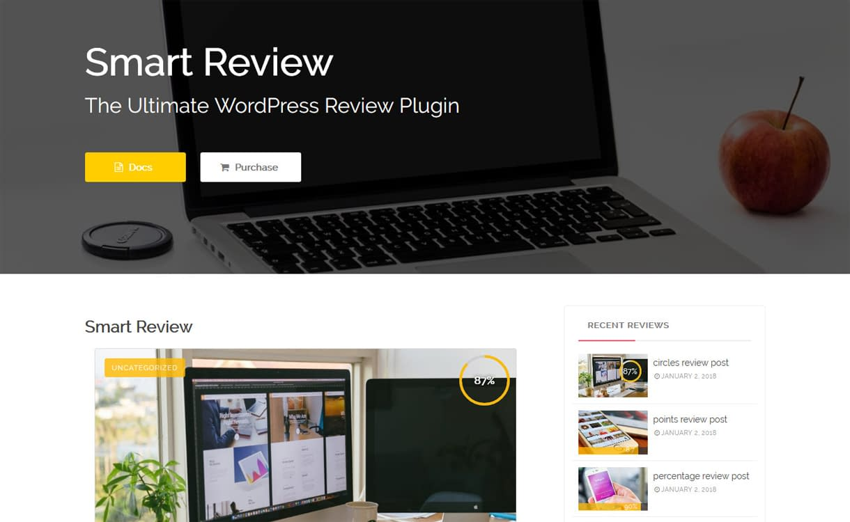 Smart Review - Ultimate WordPress Post Page Review Plugins