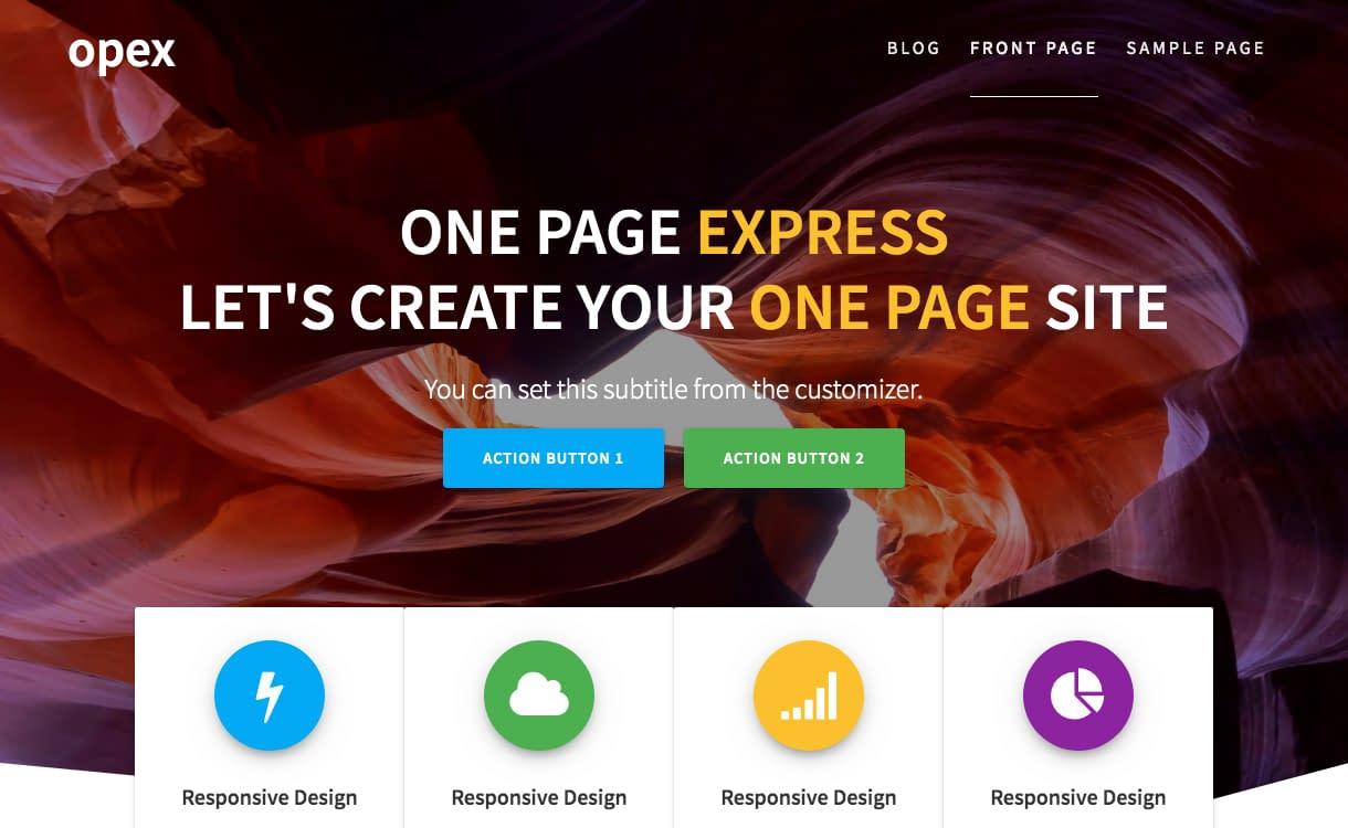 25+ Best Free WordPress One Page Themes for 2020