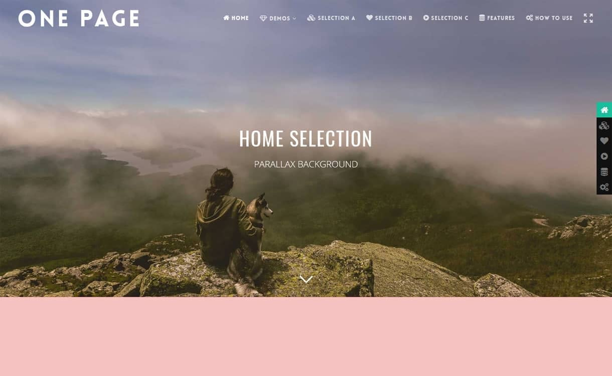 Smart One Page Navigation - WordPress One Page Navigation Navigation Plugins