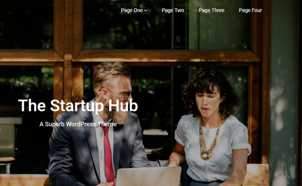 Startup-Hub-Best Free WordPress Themes June 2018